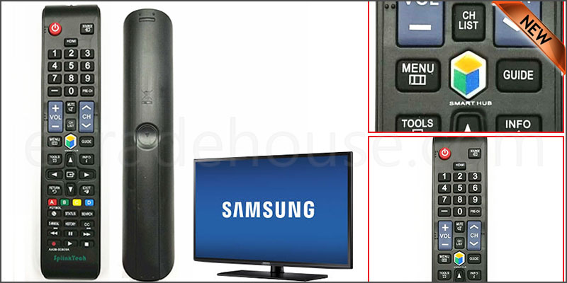 UNIVERSAL Remote Control - Samsung 2008 - 2017 LED LCD PLASMA TV 3D SMART