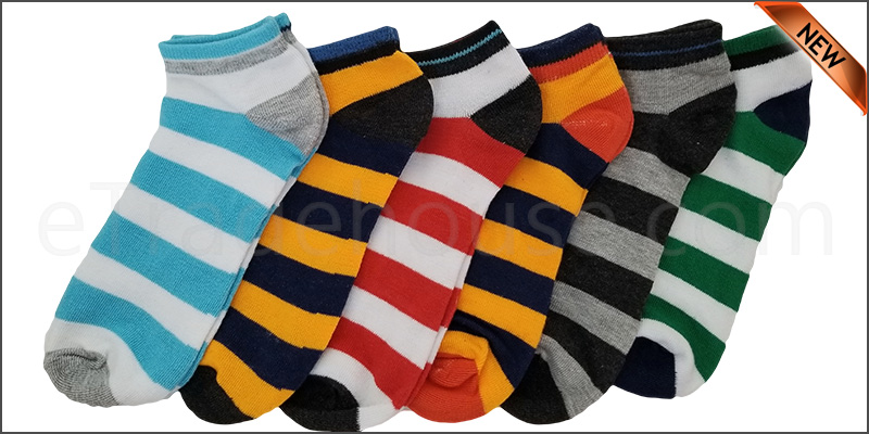 6 Pairs Mens Trainer Liner Ankle Socks Funky Designs Adults Sports  (OPTION 5 )