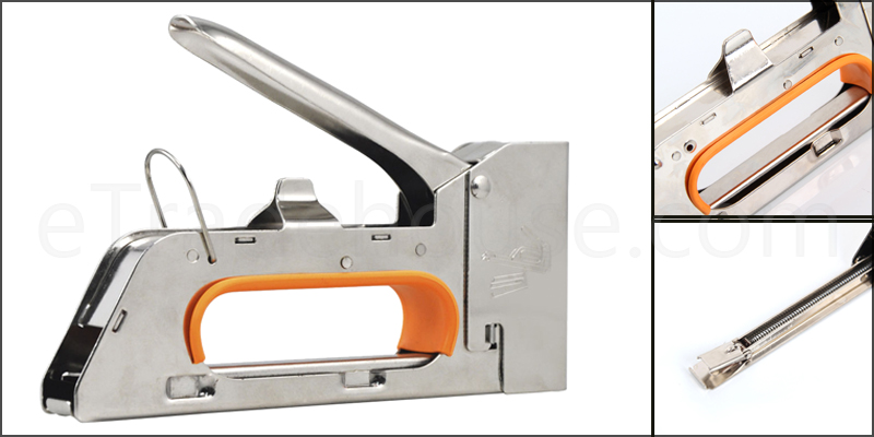 Heavy Duty Tacker Staple Gun + 2500 Free Staples
