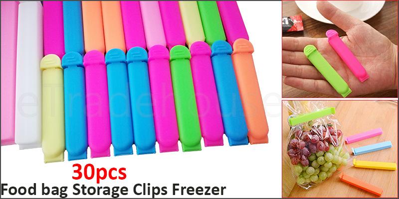 Food bag Storage Clips Freezer & Fridge Bag Sealing Clip [IKEA Bevara 30]