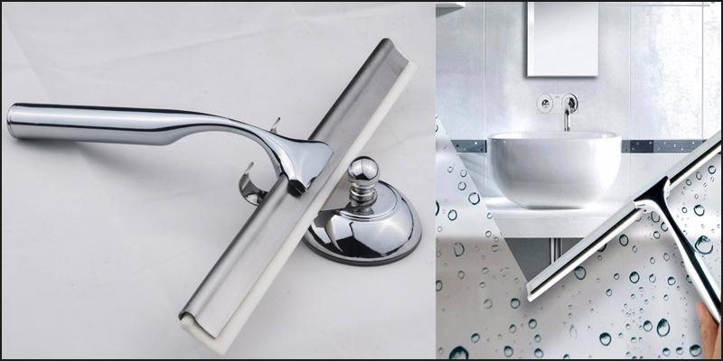 Bathroom Shower Squeegee Window Cleaner Wiper & Ho