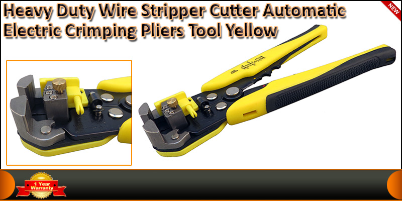 Heavy duty Wire Stripper Cutter Terminal Crimper A