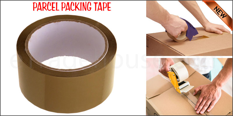 Strong Brown Parcel Packing Tape Sealing 48mm x 66m