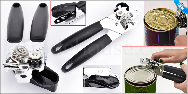 Easy Use Heavy Duty Can Tin Opener Plastic Comfort
