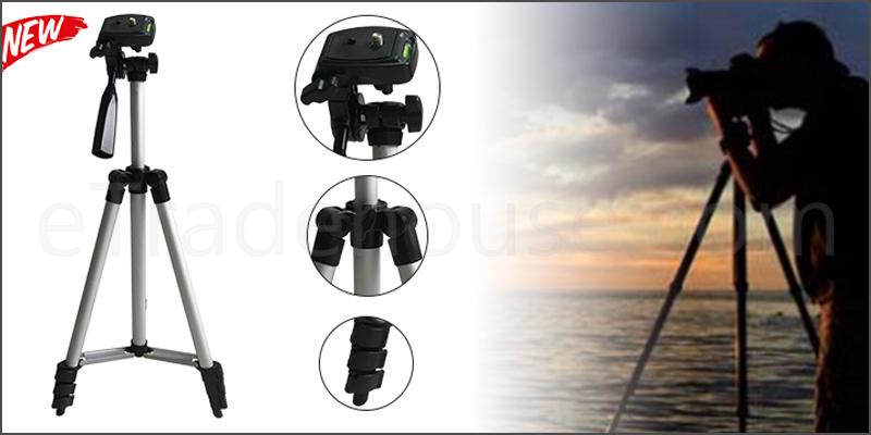 Professional Aluminum Tripod Stand Holder For Digital Camera SLR Smart Phones Mobile Phones