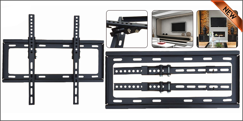 26-55 Inches Slim Tilt Adjustable Wall Mount TV Bracket For 3D LCD LED PLASMA