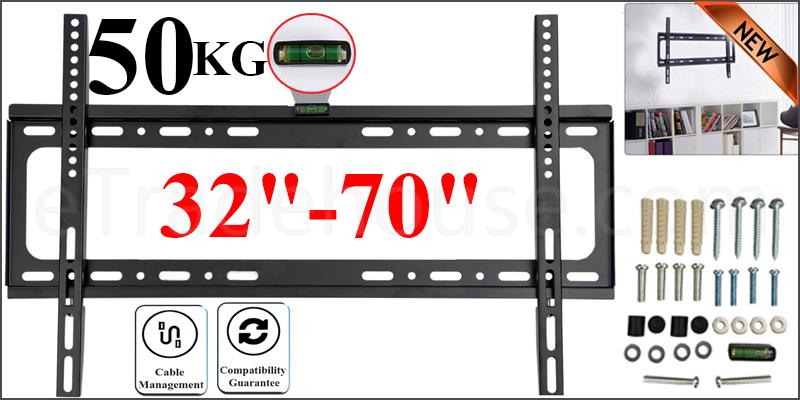 TV WALL MOUNT TILT BRACKET  32-70 VESA 600*400