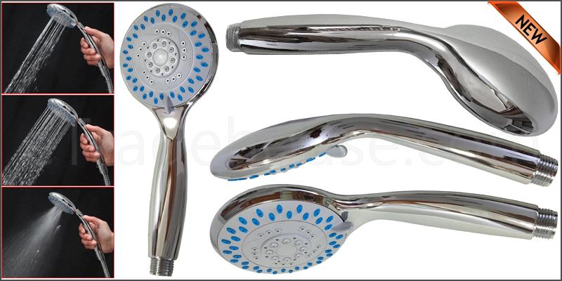 5 Mode Function Multi Spray Shower Hose Head Hands