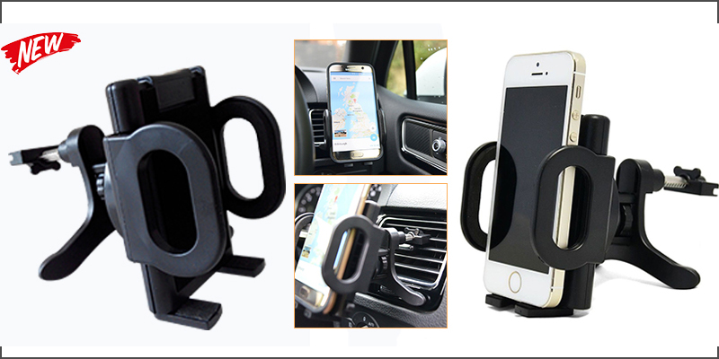 Universal In Car Air Vent Clip Cradle Mount Holder for Mobile GPS iPhone Samsung
