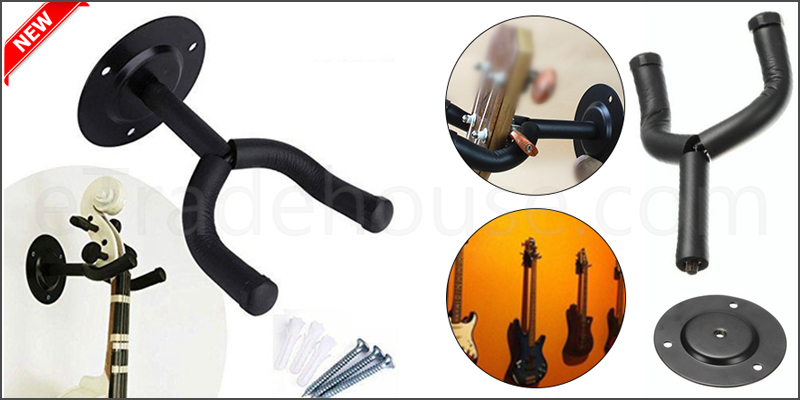 Guitar Display Metal Wall Hangers Mount Holder Hook Brackets Hanger