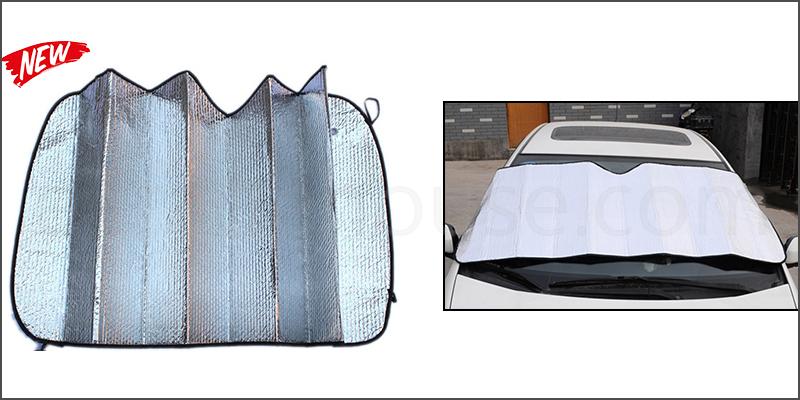 Universal Car Windscreen Sunshade Visor Foldable Reflective Heat Cover