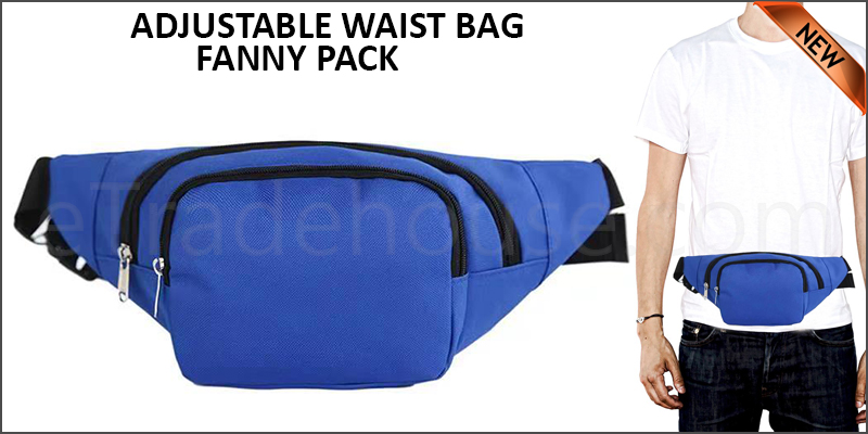 ADJUSTABLE WAIST BAG - FANNY PACK-S
