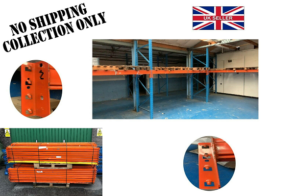 PLUSCOM HEAVY DUTY INDUSTRIAL COMMERCIAL WAREHOUSE PALLET RACKING BEAMS