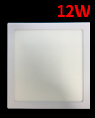 12W Slim Square LED Panel Ceiling Cool White Light Office Lighting 170*170mm