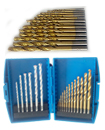 19 PCS HSS Titanium And TCT Masonry Brick Metal Wood