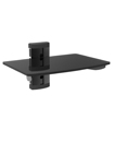 1 Tier Glass LCD LED Plasma TV Wall Mount Shelf fo