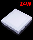 24W Surface Square LED Panel Ceiling Cool White Light Office Lighting 300*300mm