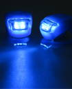 Pair Of 2 Led Silicone Mountain Bicycle Front Ligh