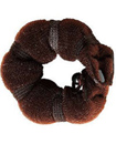 2PC Brown Hot Buns Hair Styling Ring Shaper