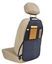 2PC KICK MAT CAR SEAT PROTECTOR COVER MESH POCKETS TOY STORAGE ORGANISER KIDS