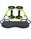 Total Body Workout Exercise Wheel Gym Fitness Mach