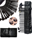 Professional 32 Pieces Makeup Brushes Set with Black Case