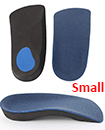 3/4 Orthotic Arch Support Insoles For Plantar Fasciitis Fallen Arches Flat Feet Small
