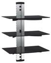 LCD LED Plasma TV Wall bracket 3 Shelves for SKY D