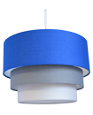 Modern 3 Tier Fabric Ceiling Pendant Light Lamp