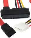 SATA Combo Cable Data & Molex to SATA Power Lead