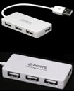 4 Ports High Speed USB 2.0 Hub Multi Splitter Expa