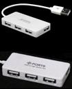 4 Ports High Speed USB 2.0 Hub Multi Splitter Expa