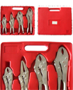 4 x Heavy Duty Grip Wrench Set Vice Locking Lock Pliers Mole Grips Tools