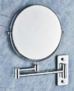 Wall Mounted 5x Magnifying Bathroom Cosmetic Make Up Shaving Mirror Double Side