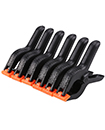 "6 x 6"" Spring Clamps Large Strong Plastic Market Stall Clips Nylon Tarpaulin"