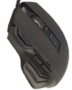 Optical 7D 2400DPI 4 Level Resolution Gaming Mouse