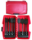 8 Pieces Extreme Flat Wood Drill Bit Set