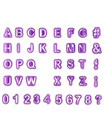 40pcs Alphabet Number Letter Fondant Cake Decorating Set Icing Cutter Mold Mould