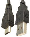 USB 2.0 to Micro 5 Pin Data Cable Lead For Mobile