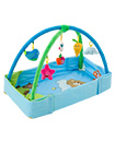 4 in 1 Foldable Baby Kids Play Mat Light & Musical Gym Floor Activity Lay Sit