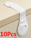 10X Baby Kids Child Cupboard Cabinet Safety Locks Pets Proofing Drawer Fridge