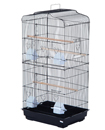 X-Large Metal Bird Cage Budgie Canary Parakeet Cockatiel Finch Lovebird Tall Cages