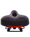 Bike Bicycle Wide Big Bum Soft Extra Comfort Sprung Deluxe Saddle Seat