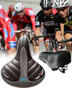 Wide Big Bum Bike Bicycle Pad Saddle Seat
