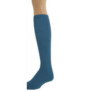 KNEE SOCKS GIRLS LONG SOCKS-GIRLS KNEE LENGTH SOCKS BLUE