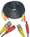10 Meter CCTV BNC Video and DC Power Cable