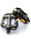 Pair of Adult Mountain Cycle Bike Reflector Steel Pedals