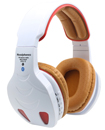 A pair of premium over ear Bluetooth Wireless headphones Multi Function LED RADIO
