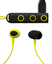 A Pair of Magnetic 80 mAh Bluetooth Earphones with Extra Ear Buds