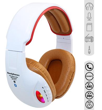 Go radio ga ga over these 3-in-1 LED FM Radio Headphones
